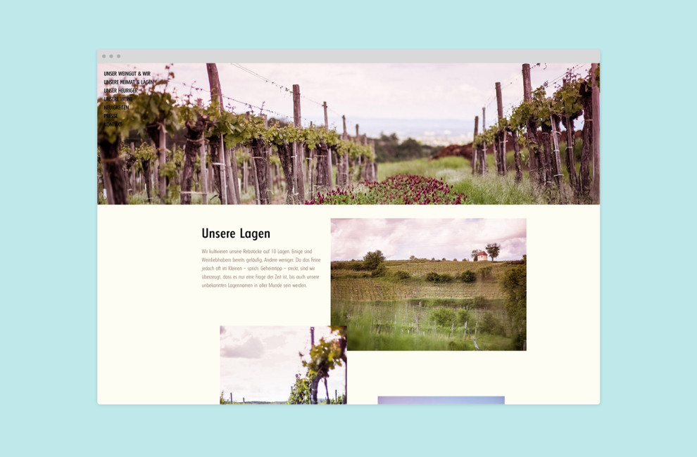This is PROXI. |Weingut am Berg