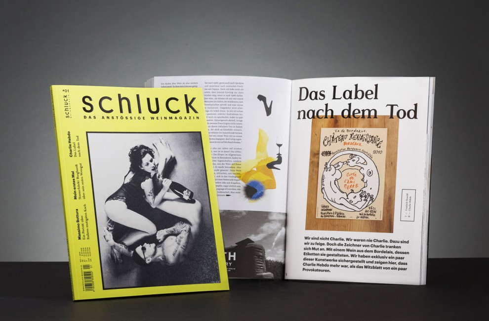 This is PROXI. | Schluck Magazine Vol.1