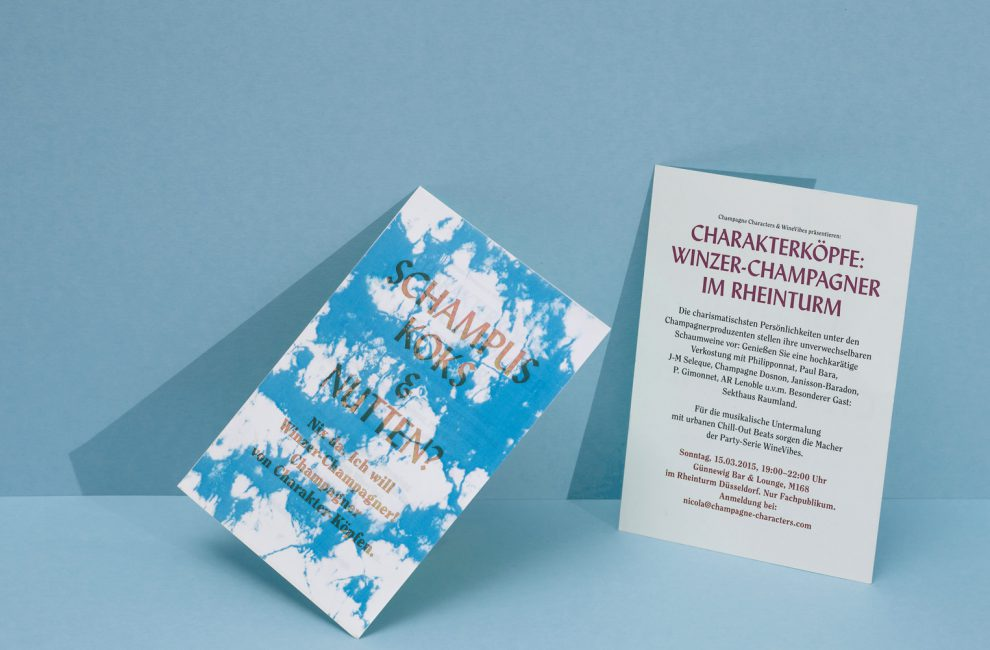 This is PROXI. |Champagne invitation
