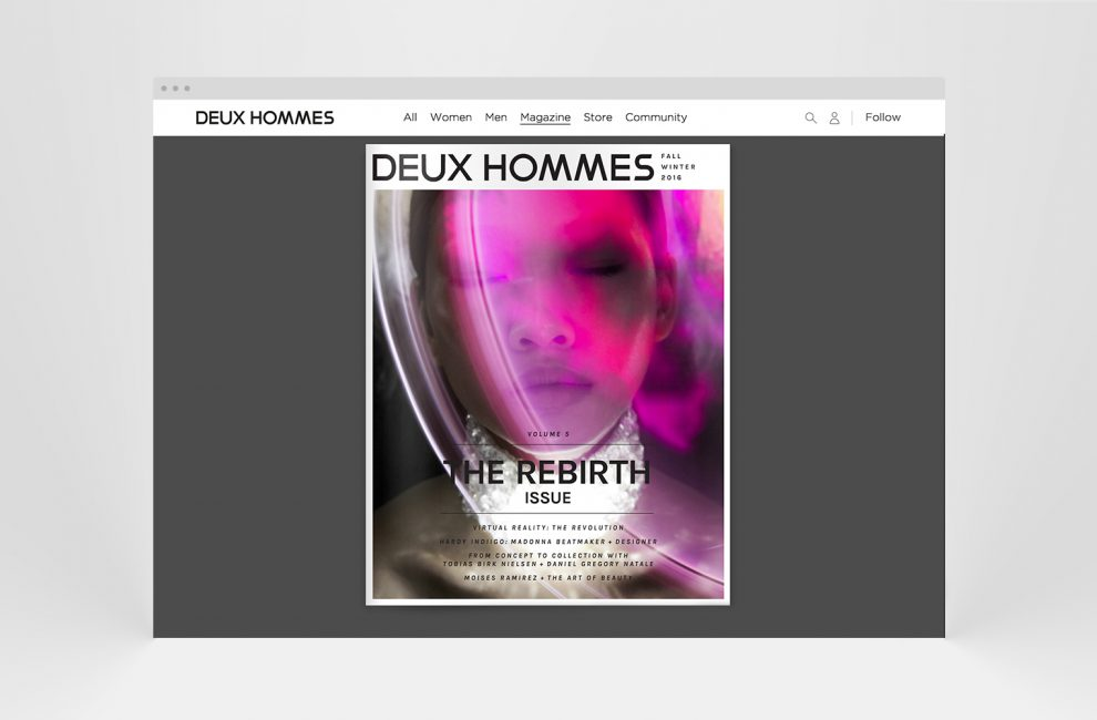 This is PROXI. | Deux Hommes