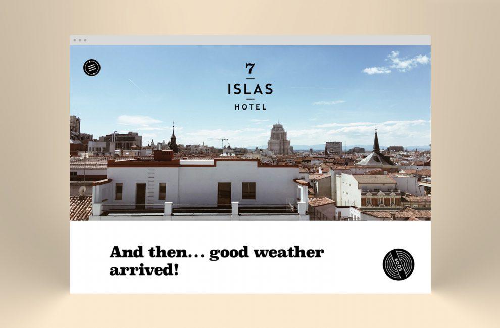 This is PROXI. |7 islas hotel