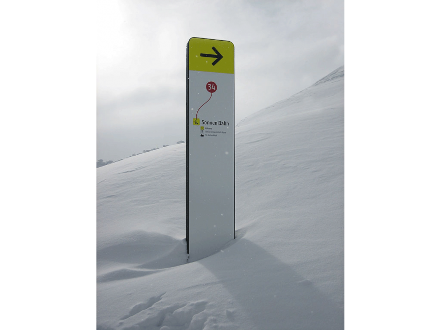 This is PROXI. | Slope Signage System